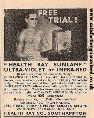 healthraysunlamp