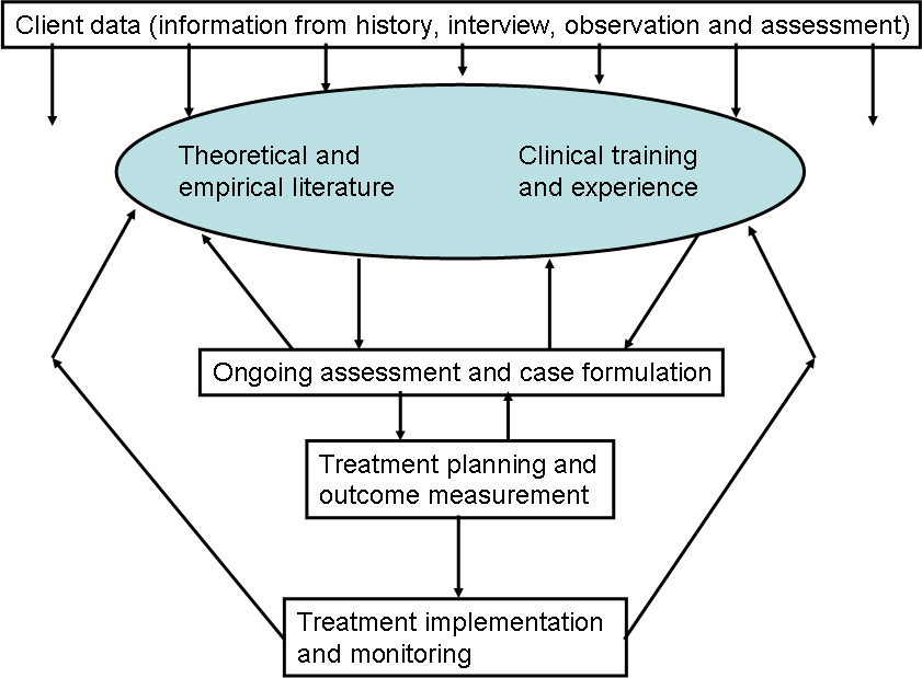 Quickie Diagram Of The Process From Assessment To Treatment