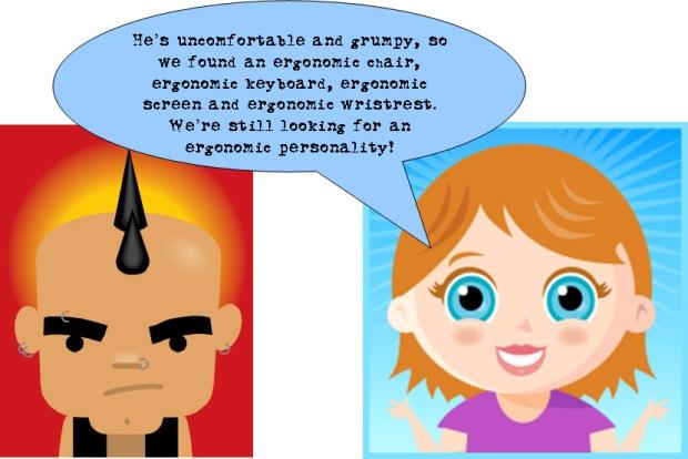 ergonomic personality