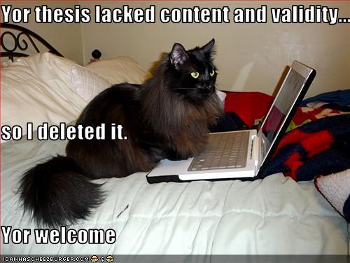 Dissertation writing jokes