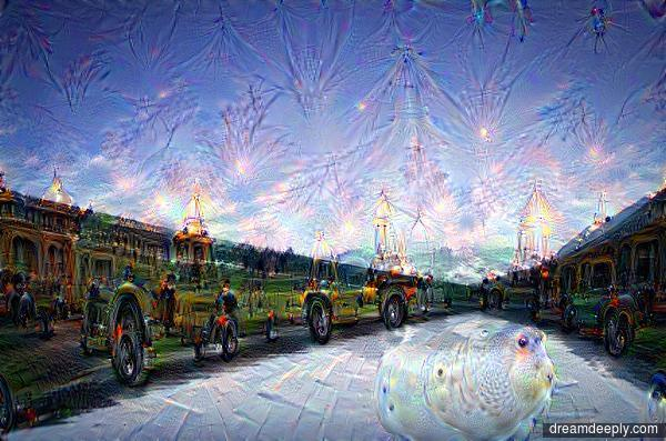 CPU #deepdream